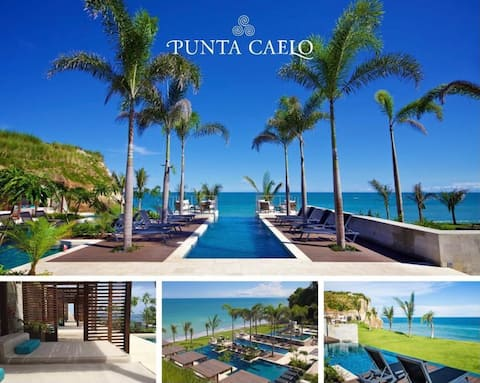 Relájate frente al mar en ~La Perla~ Punta Caelo