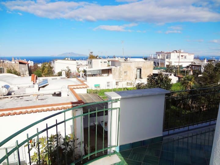 Il Pioppo, villa con terrazze panoramiche