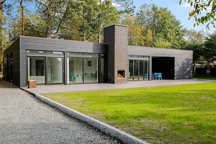 New beachhouse near Aarhus (Saksild Strand) - Odder - 小木屋