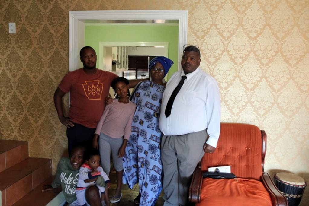 Nomsa and her family  look forward to hosting you!