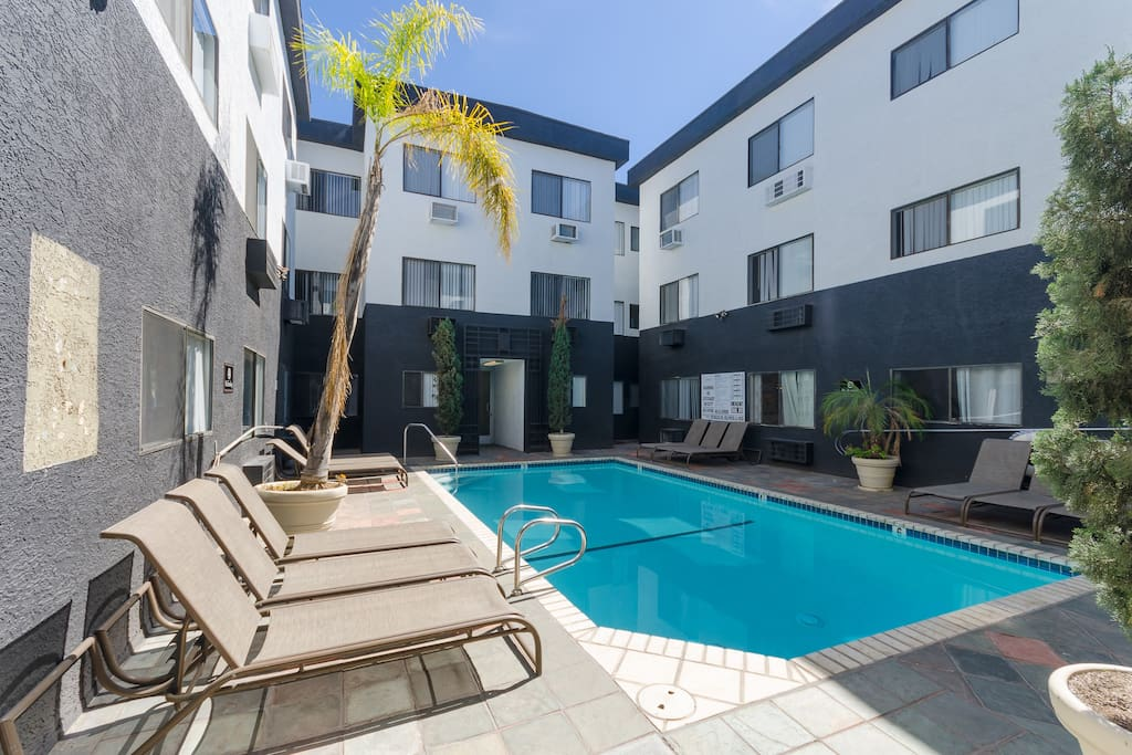 Enjoy our relaxing pool year round - located in building B of our complex.