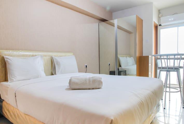 Comfortable Studio Apartment Room at Cinere Resort