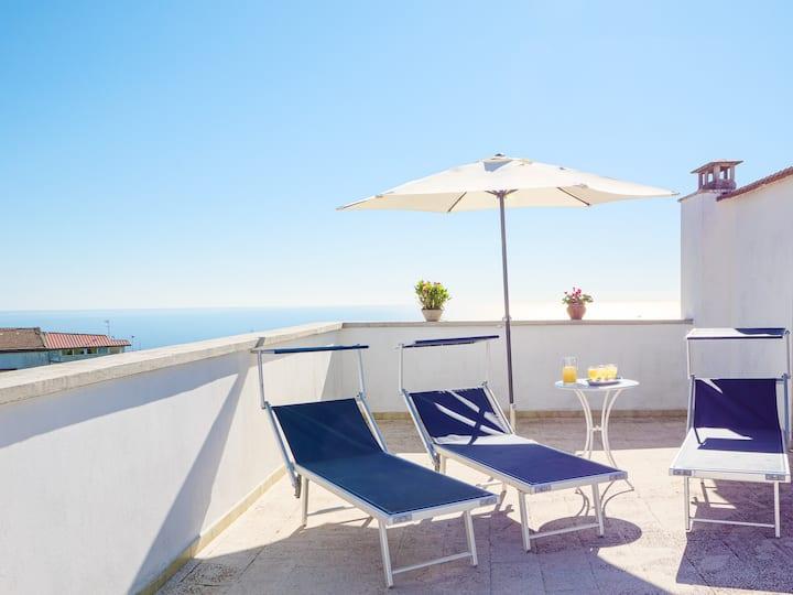 CASA TIZZANI - sea view roof terrace in the center