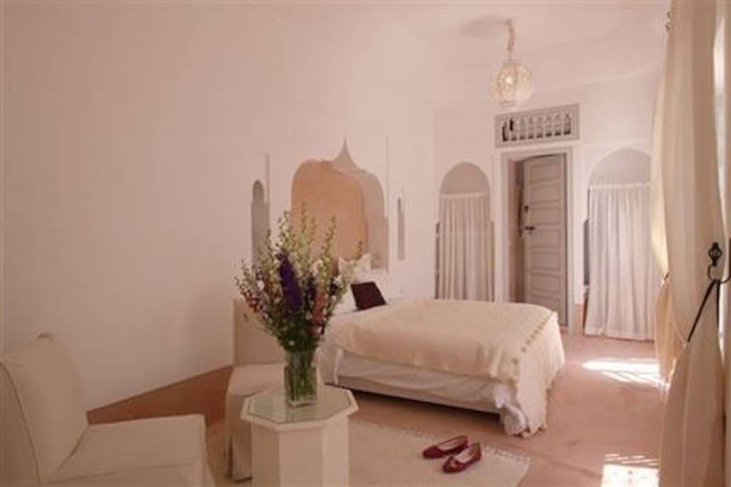 The Aubergine room