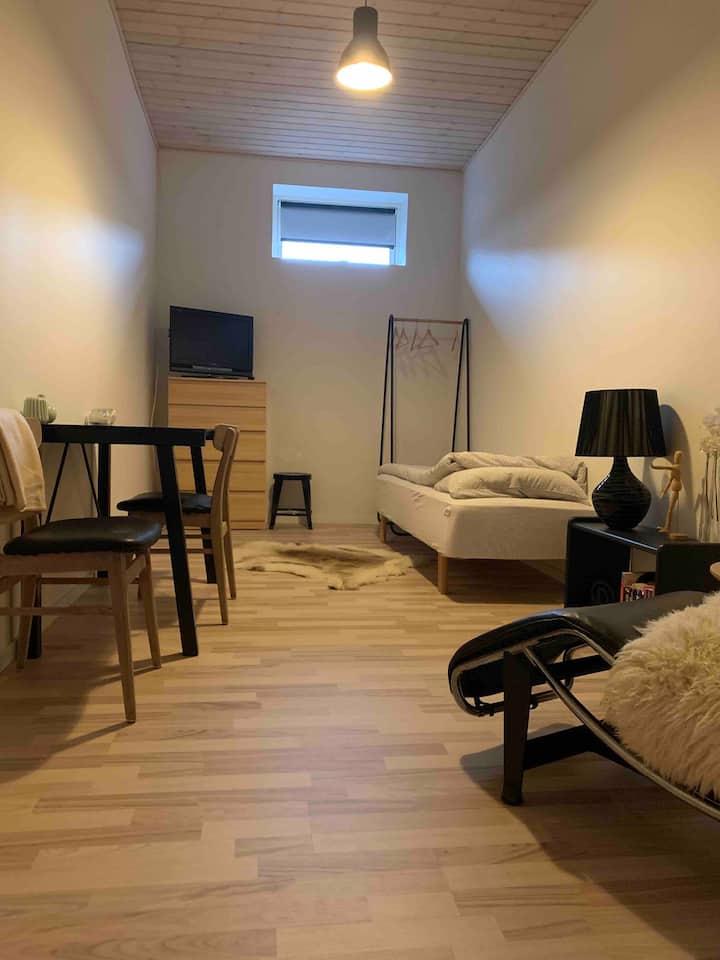 Hyggeligt værelse hos Engholm