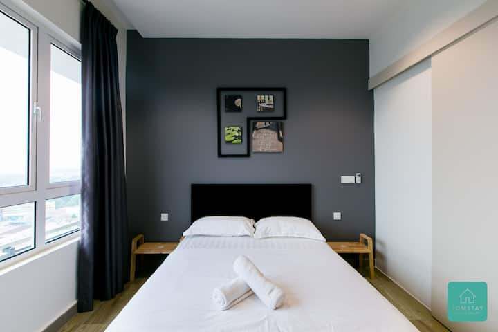 ★Super Promo★Jomstay - Octagon Suite 3 (Ipoh Town)