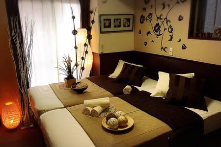 Near Dotonbori&Nanba&Shinsekai J-modern Room - Osaka - Apartamento