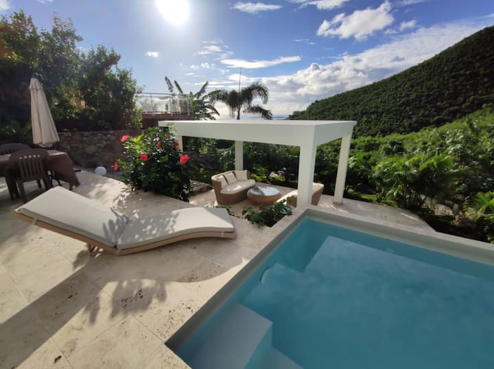 VILLA, 2BEDR, PRIVATE POOL SEA&HIll PANORAMIC VIEW