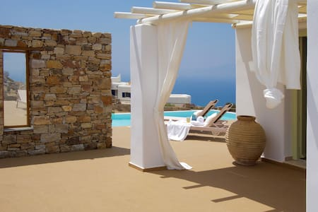Villa Zas - Naxos Grande Vista - Vivlos - Villa