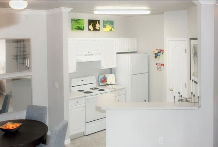 What the kitchen looks like