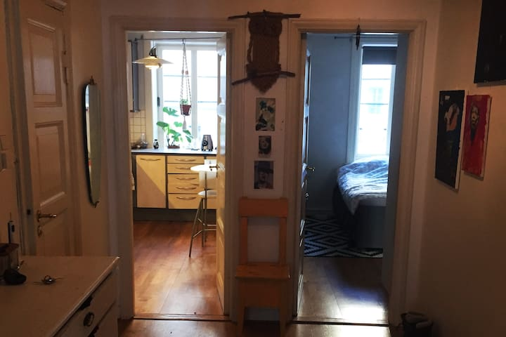 Spacious room for two in central area of Sagene