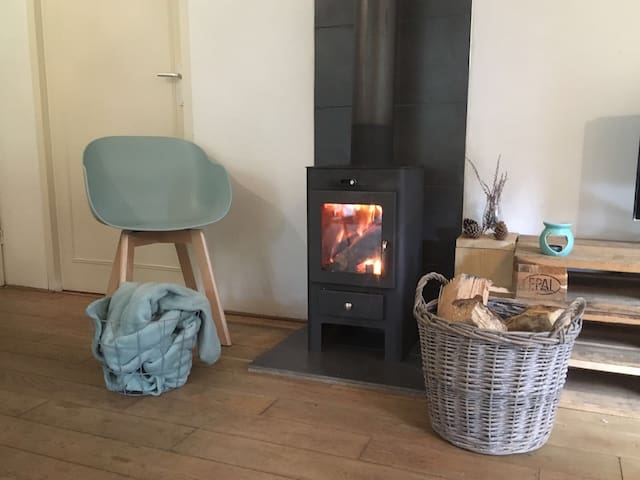 gezellig vuurtje tijdens de koude dagen.