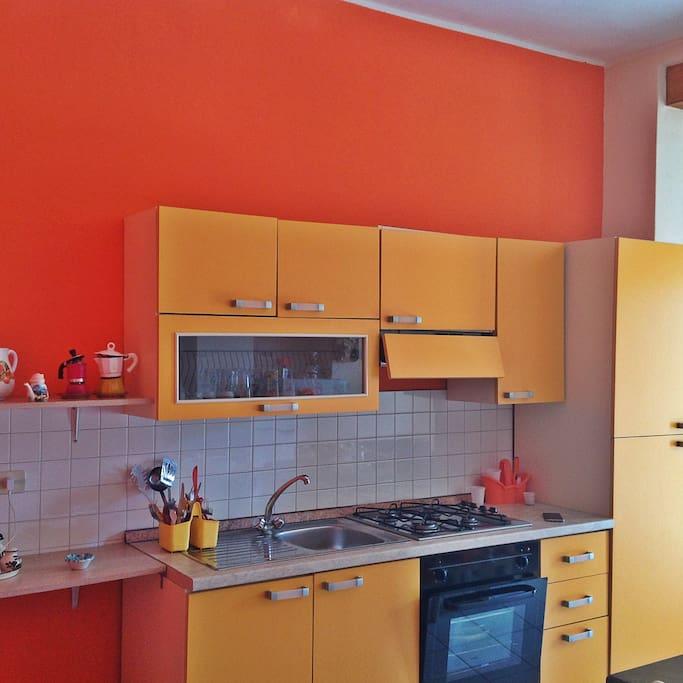 cucina attrezzata di tutte le utilità