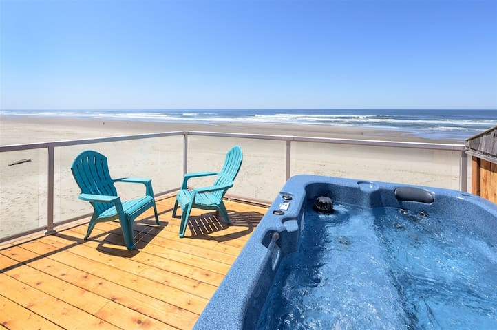VIEW POINTE: NEW, Onsite Beach, Hot Tub (Seashell)