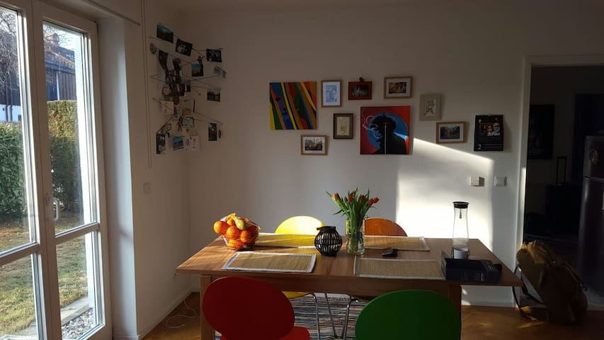 Comfy shared Home w/ Garden - München - Apartment