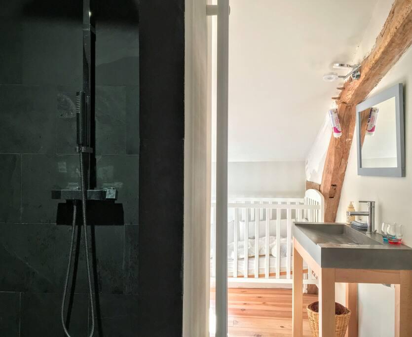 Salle de bain de la chambre sud