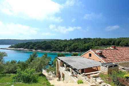 Perle - Eco-Friendly house with beautiful surroundings and view - Vela Luka - Haus