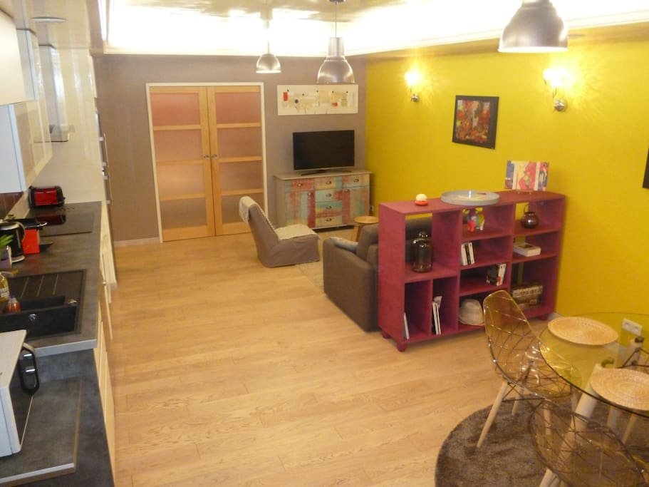 Appartement cosy triangle d 39 or appartements louer for Appartement bordeaux triangle d or