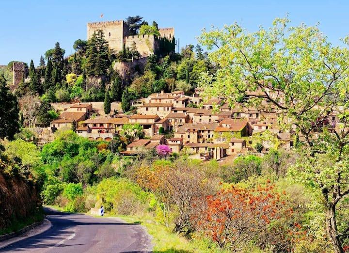 Le charme d'un village Médiéval classé