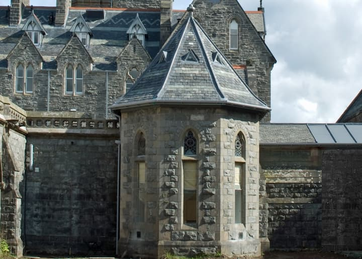 Stay in a former ABBEY at Loch Ness