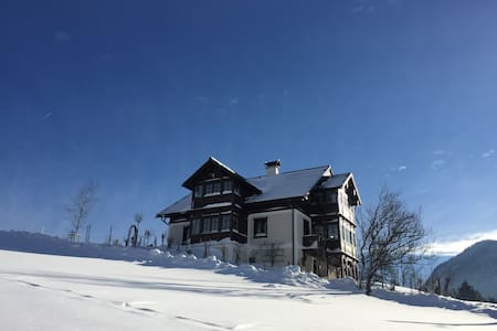 Luxurious hunting lodge with a fantastic view - Bad Aussee