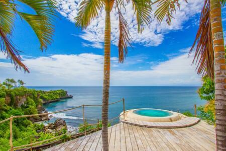 *PRIVATE BEACH* Eco lake lodge tujuhbelas BB - South Kuta