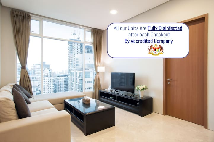 Soho Suites KLCC Nice 3 Bedroom Flat - 优越地理位置⭐⭐⭐⭐⭐