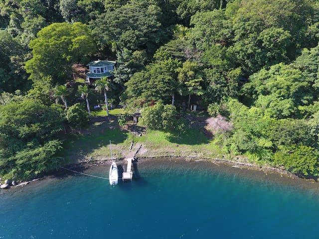 Rainforest vacation house,  Laguna de Apoyo.
