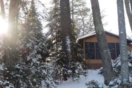 Lakefront Cabin with Stunning Views of Wildcat LK - Boulder Junction - Kabin