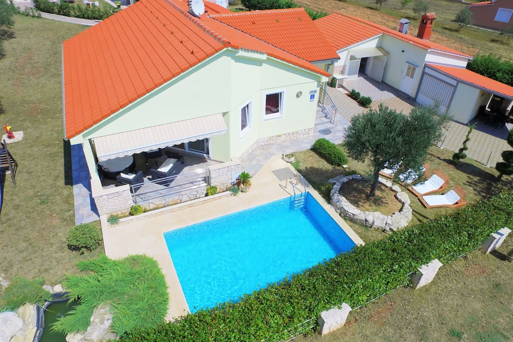 Villa Sole Istria - house for 5 people with pool in Marčana, Istria, Croatia