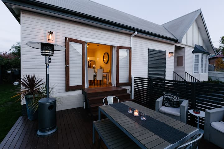 Stylish home with spa close to the heart of Hobart