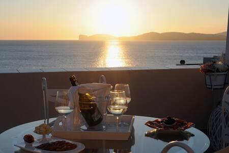 Il tramonto sul mare - 阿尔盖罗 - 公寓