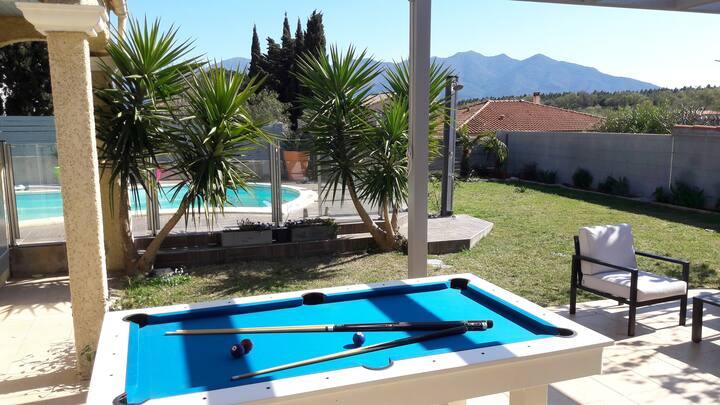 Villa avec piscine et billard en Pays Catalan !!!