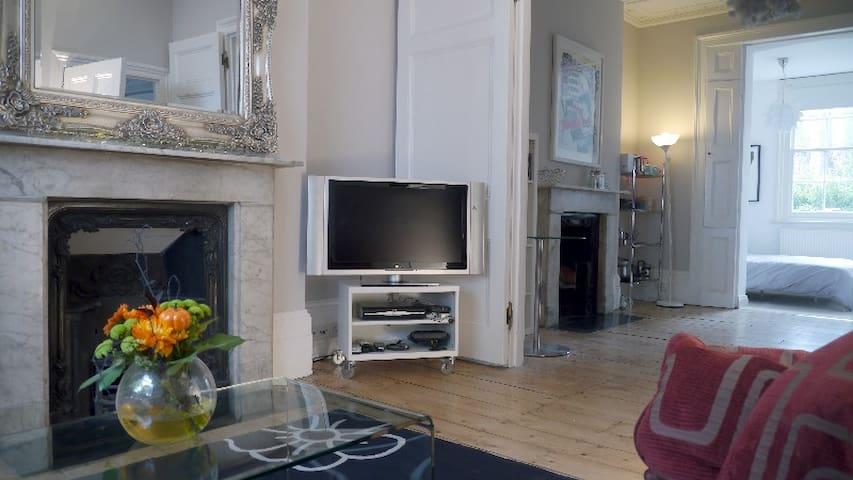 Victorian apartment near Kings Cross - London - Haus