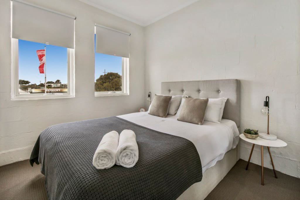 Bedroom - Sorrento Beach Abode
