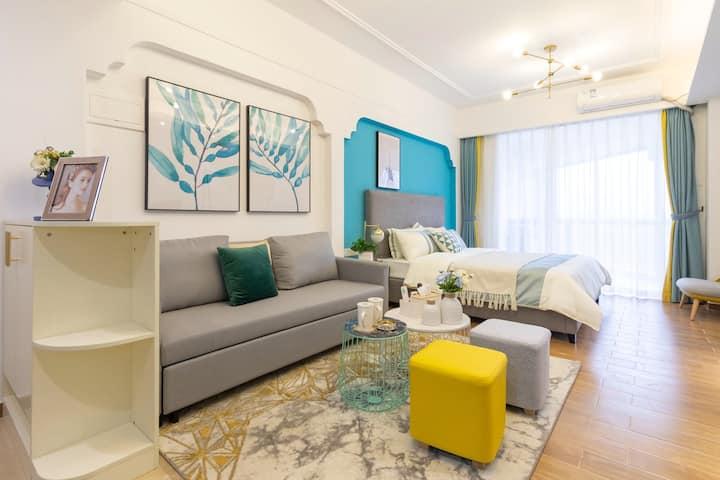 第九湾观山看海高配精装品质一居室公寓5