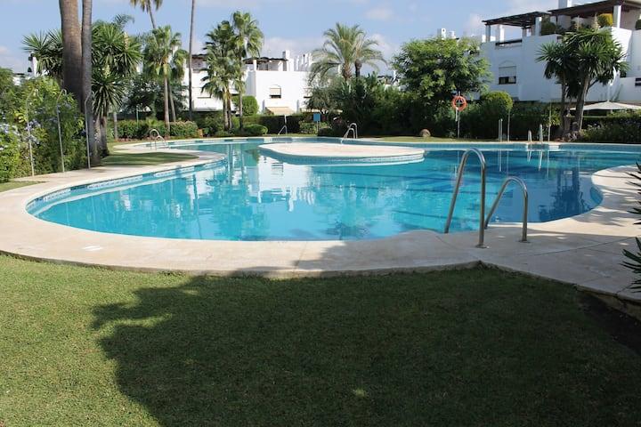 San Pedro, Marbella, Guadavillas Beach Resort. 5 Bed 5 Bath House