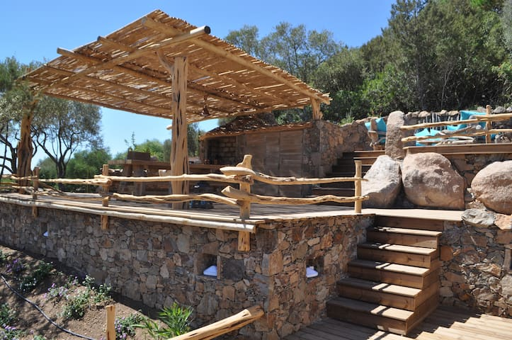 """Maison"""" bergerie Corse"""" à 1,5 kms de palombaggia - Porto-Vecchio - บ้าน"""