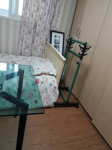 Guest room hanger and drawer