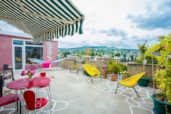 ☀ SunRise Terrace ☀Apartment w/ Special View