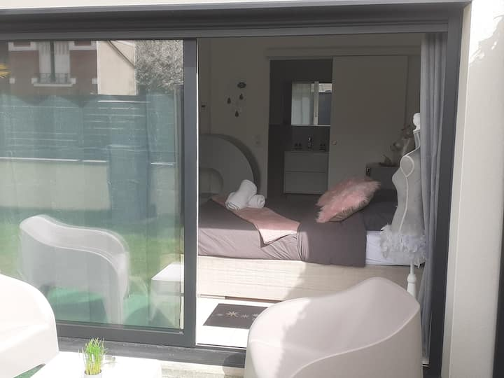 Suite WLove💝sdb, terrasse et jardin💕💛