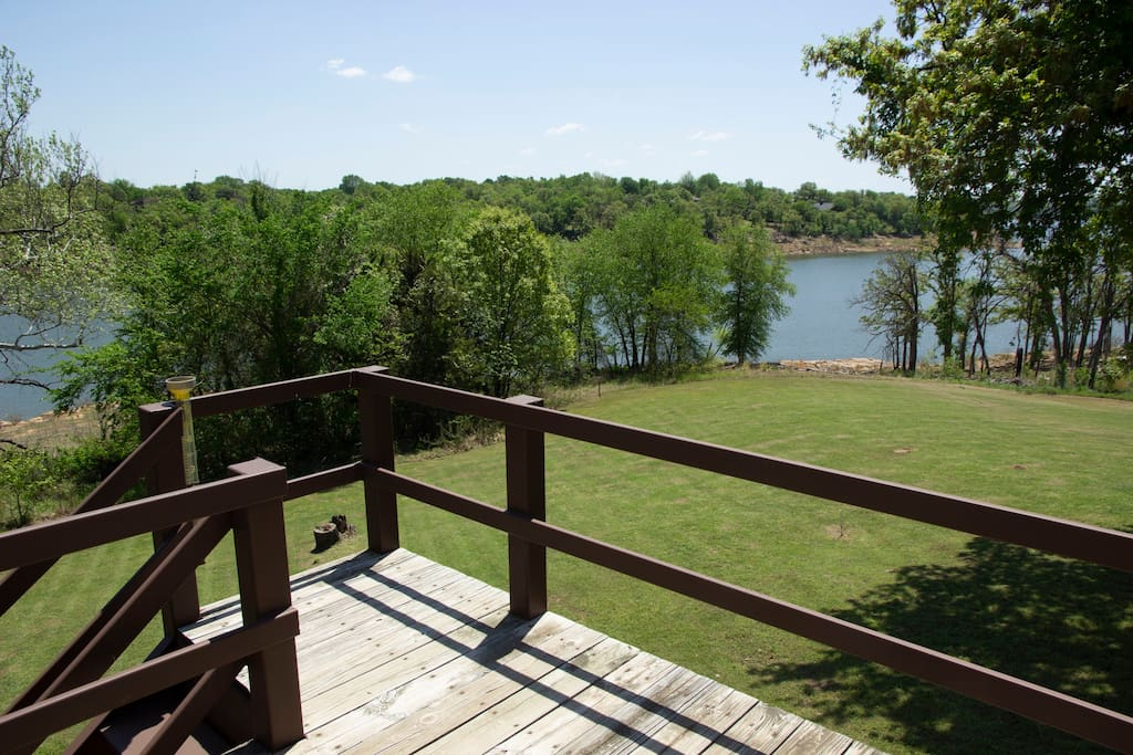 View from deck of Lake Keystone