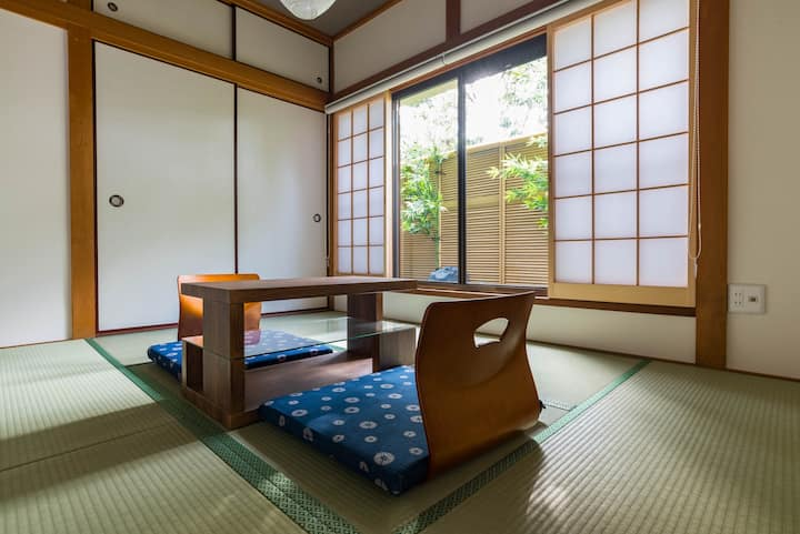 ■距离难波8分钟■2LDK46㎡宽敞的设计古风民家套房/Bijou Suites Shiki