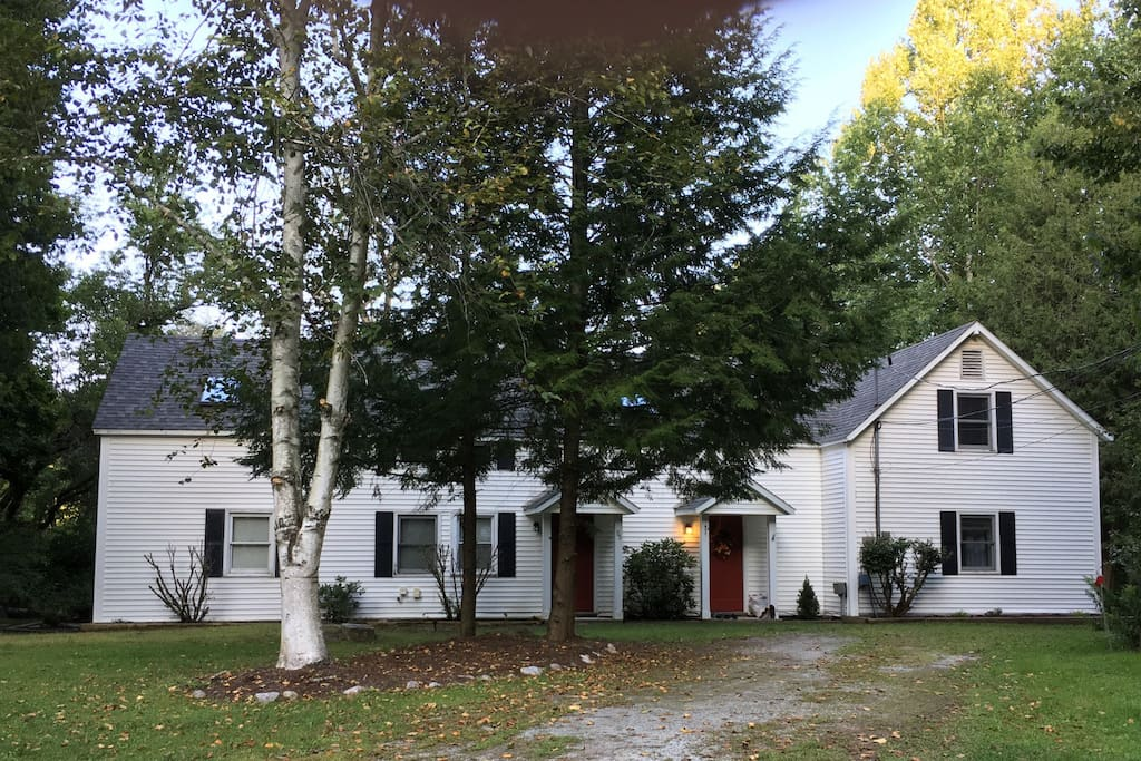 the property consists of 2 condos on 1.8 acres