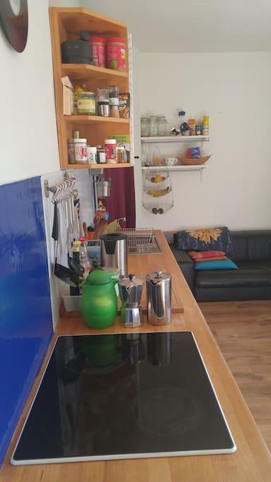 Stove, Oven, Tea and Coffee