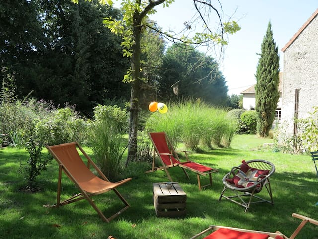 Maison chaleureuse Yvelines - Flexanville - Huis