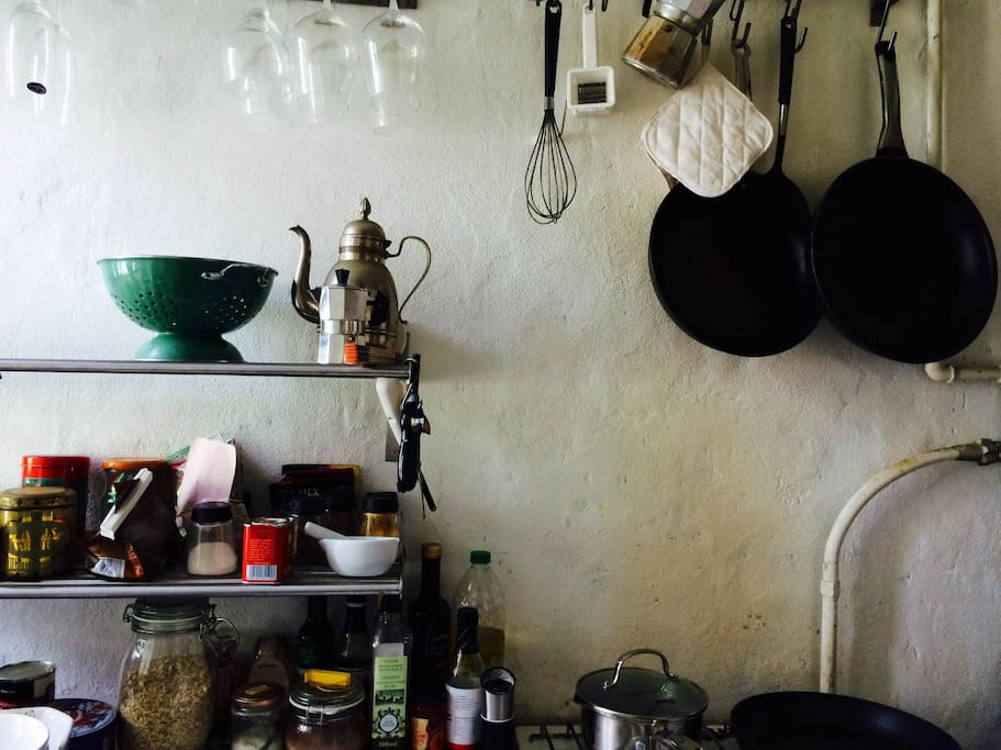 Cool pic of the kitchen