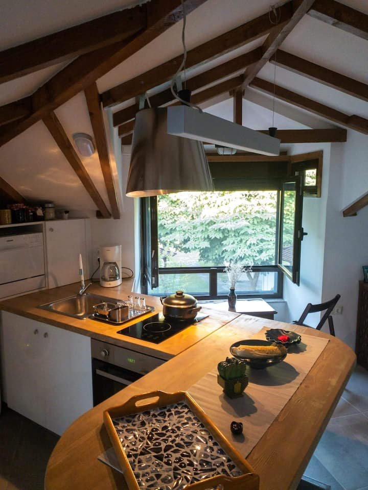 Cosy loft near the sea- family friendly
