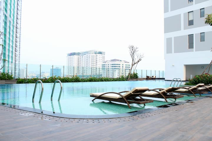 Great Pool//Central//Rustic Galery Aprtment