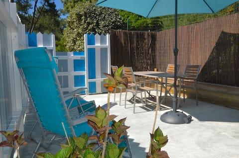 Maisonnette avec terrasse, WIFI, Ile d'Oléron